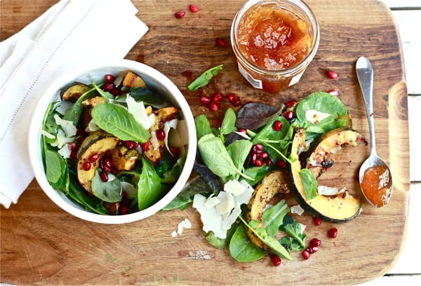 Warm Squash Salad with Apricot and Manchego   The Clever Carrot
