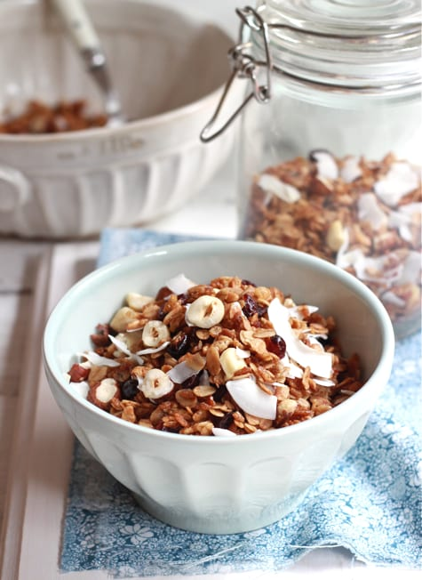 my favorite granola
