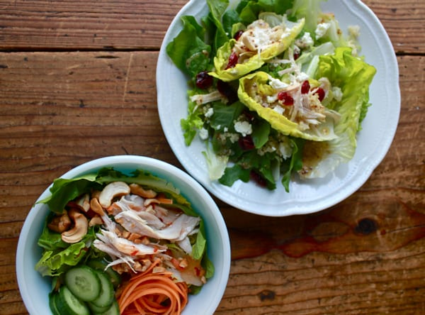 Leftover Turkey Salad, 2 Ways / The Clever Carrot