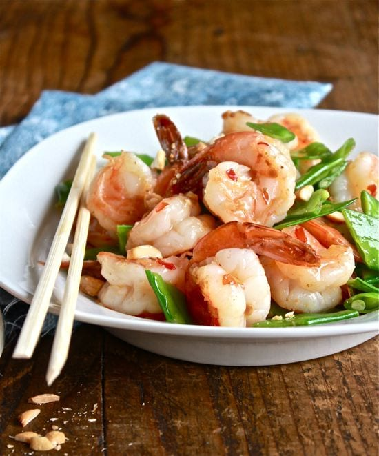 Dinner tonight sweet chili shrimp stir fry the clever What to make with shrimp for dinner