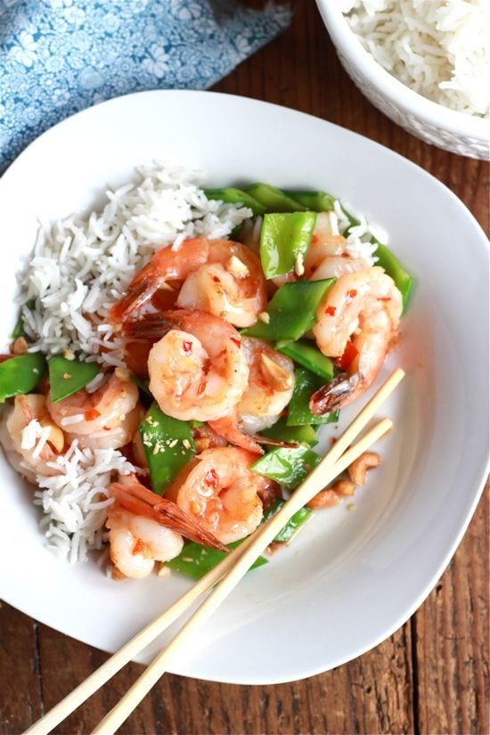 Sweet Chili Shrimp Stir-Fry | The Clever Carrot