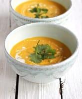 thai coconut soup | theclevercarror.com