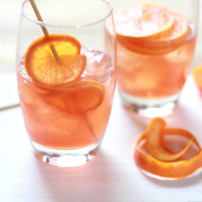 Blood Orange Negroni | theclevercarrot.com