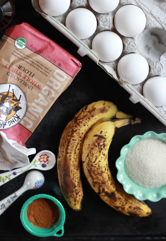 banana bread with greek yogurt frosting   The Clever Carrot