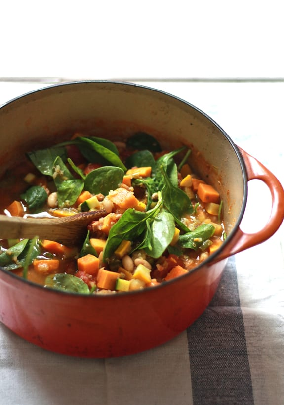 late summer minestrone | The Clever Carrot