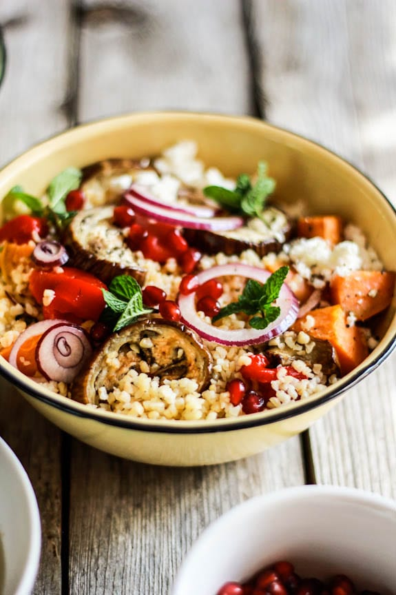 cracked wheat harvest salad   The Clever Carrot