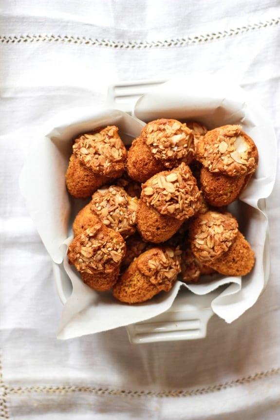 mini acorn pumpkin + granola muffins | The Clever Carrot