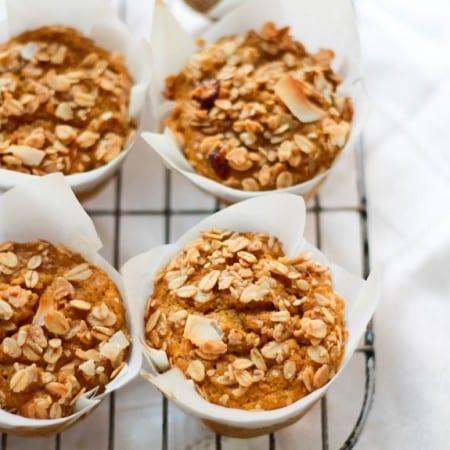 pumpkin spice granola muffins 1 (1 of 1)