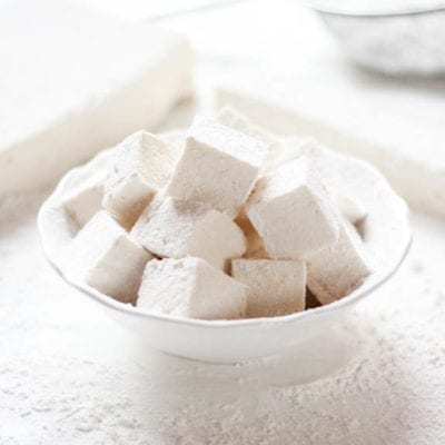 homemade fluffy marshmallows {corn syrup free}