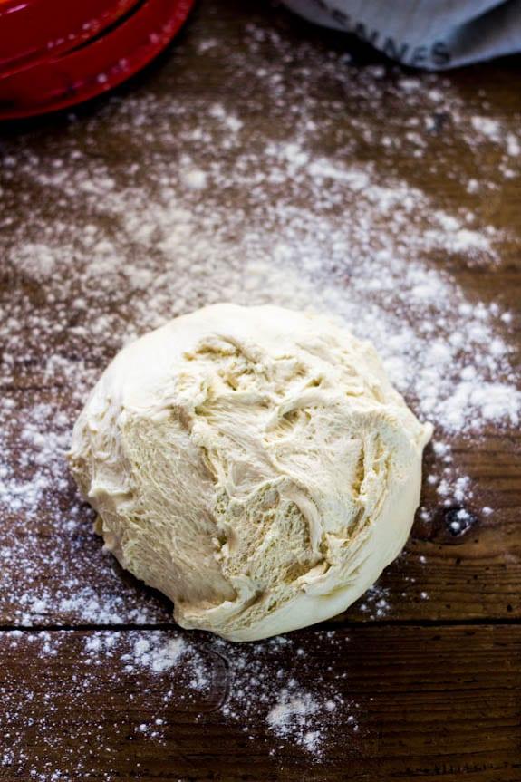 Bread dough | theclevercarrot.com