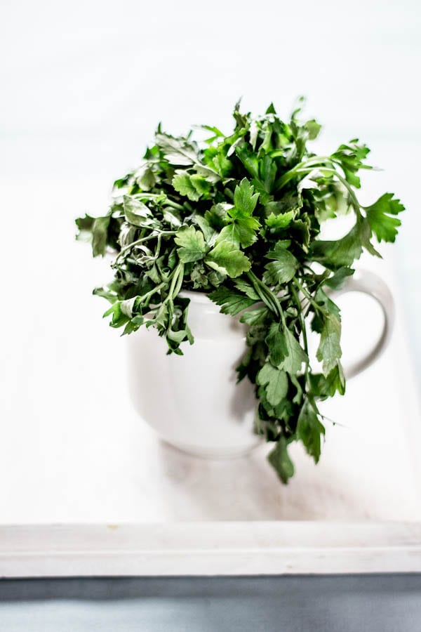 how to revive wilted herbs | The Clever Carrot