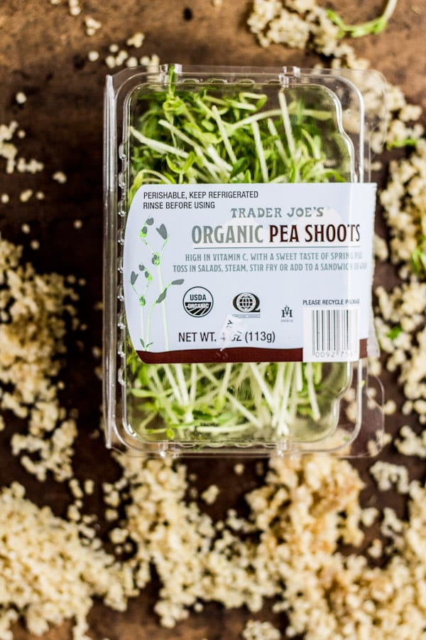pea shoots | The Clever Carrot