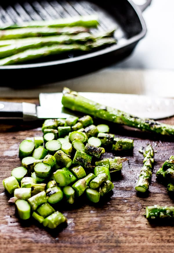 grilled asparagus | The Clever Carrot