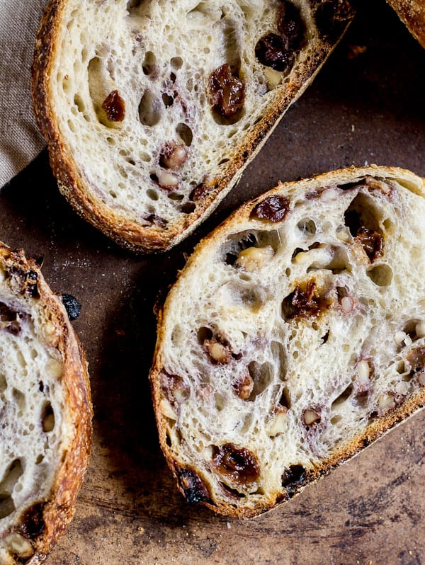 country sourdough with walnuts + raisins | The Clever Carrot