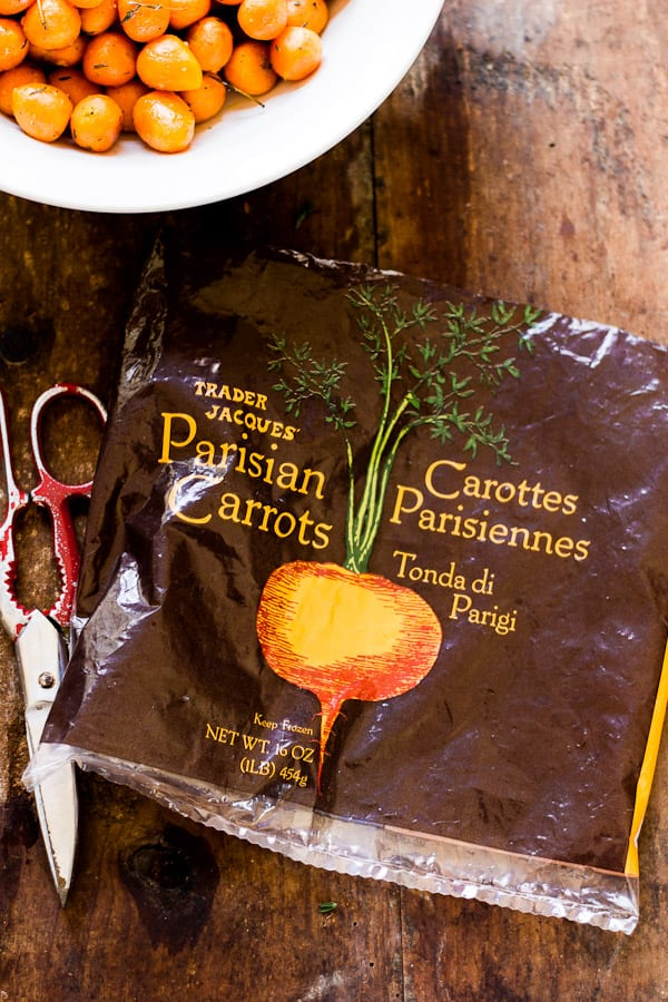 honey baked parisian carrots with orange + thyme | The Clever Carrot