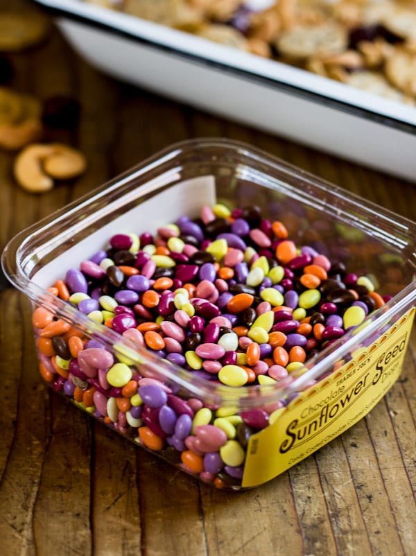 chocolate covered sunflower seeds | The Clever Carrot