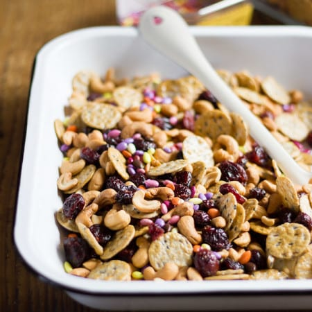 sweet + salty snack mix