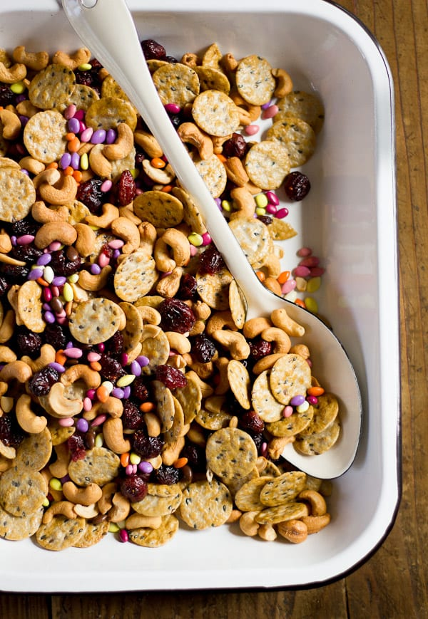 sweet + salty snack mix | The Clever Carrot