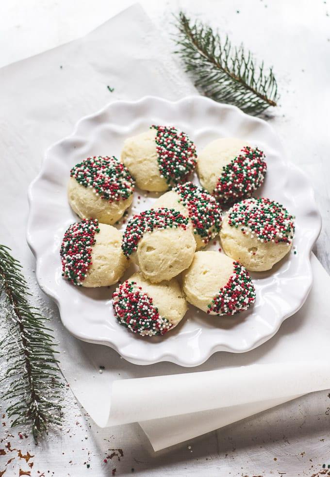 Italian Christmas Ricotta Cookies