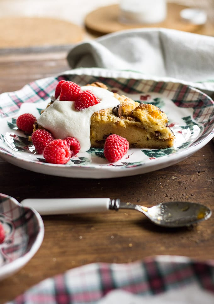 jamie oliver's panettone pudding tart | theclevercarrot.com
