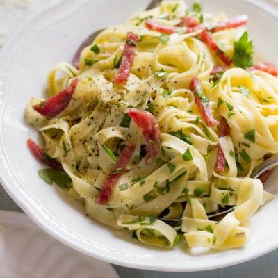 15 minute meals: simple italian pasta