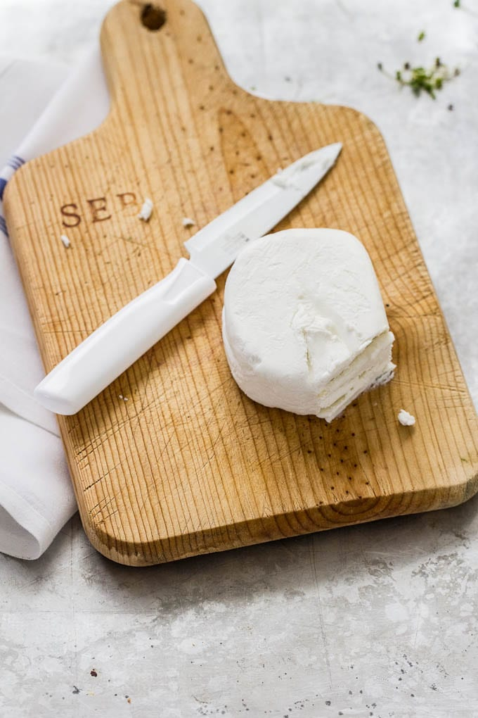 french goat cheese | theclevercarrot.com