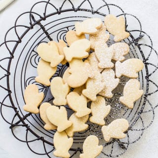 winter shortbread |theclevercarrot.com