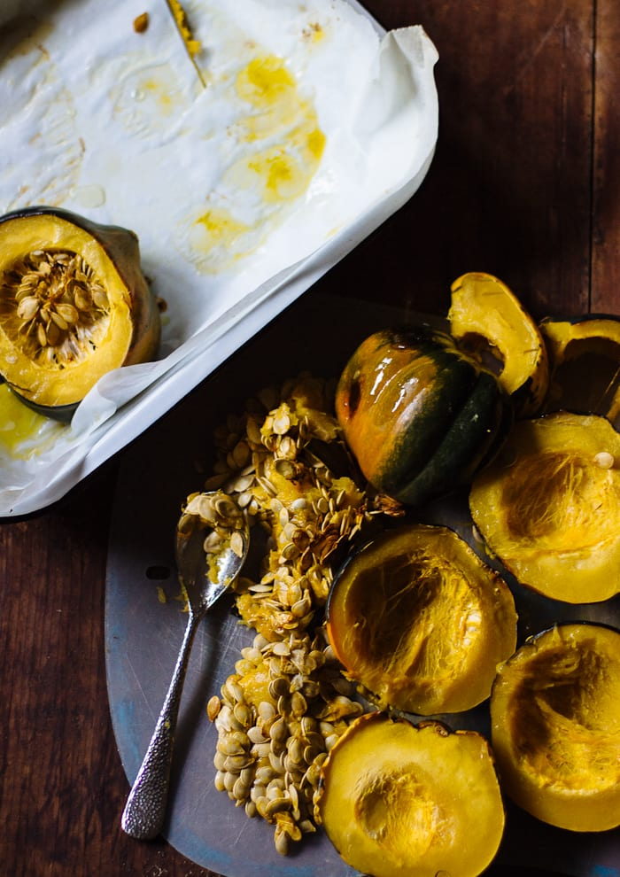 what to do with acorn squash | theclevercarrot.com