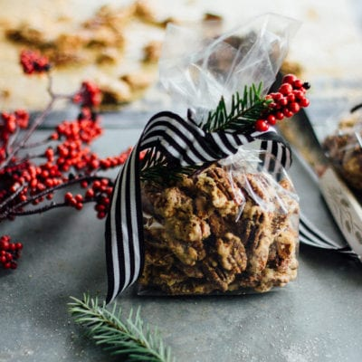 make-ahead gifts: brûléed pecans