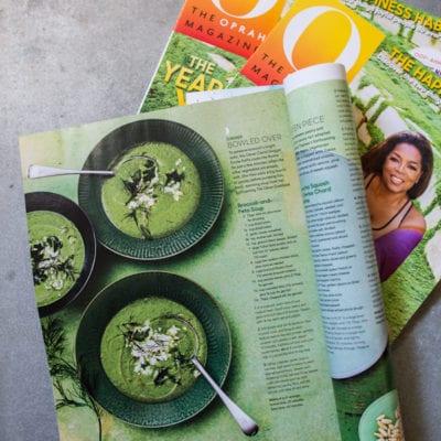 a feature in oprah magazine