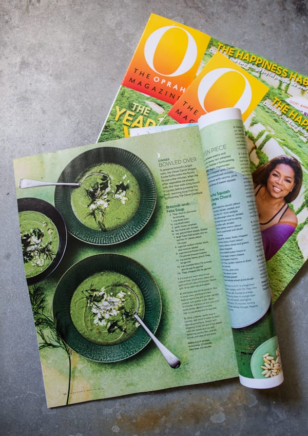 oprah magazine | theclevercarrot