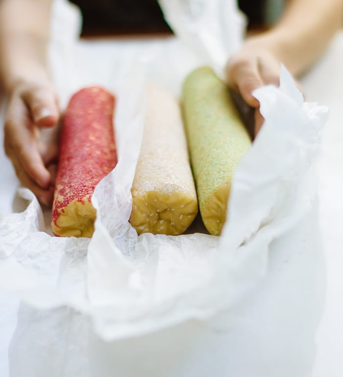 pastel shortbread |theclevercarrot.com