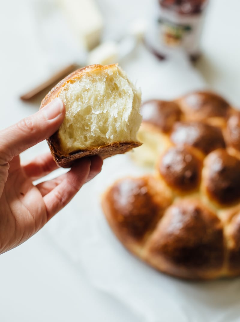 how to make brioche rolls | theclevercarrot.com