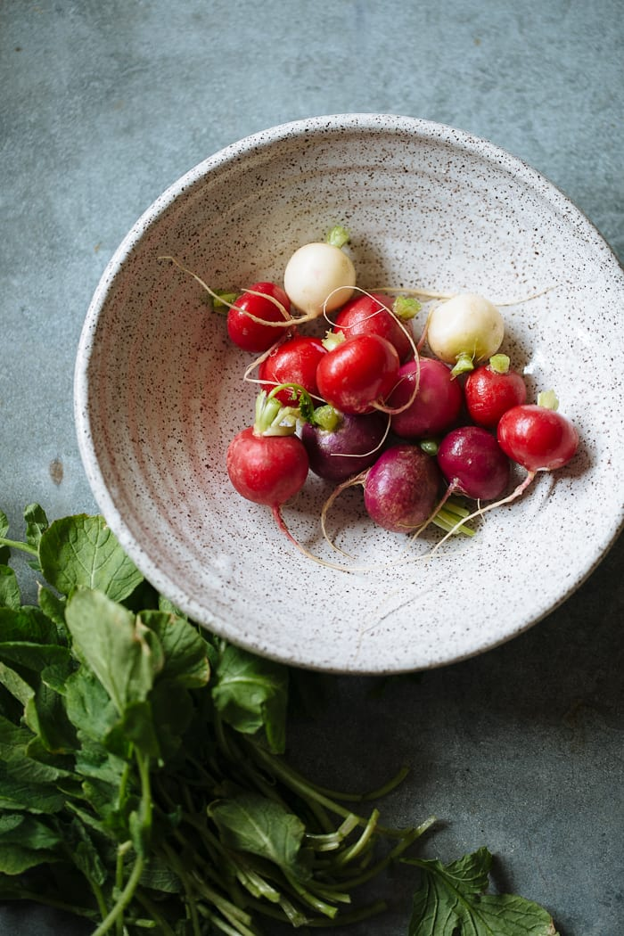 roasted radishes | theclevercarrot.com