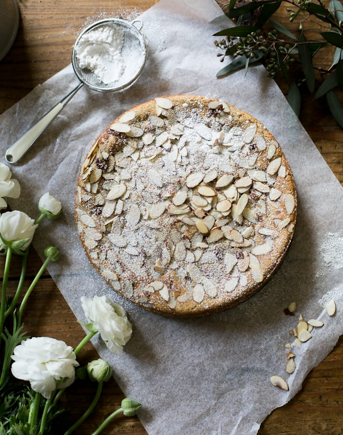 italian almond ricotta cake, my way. | theclevercarrot.com