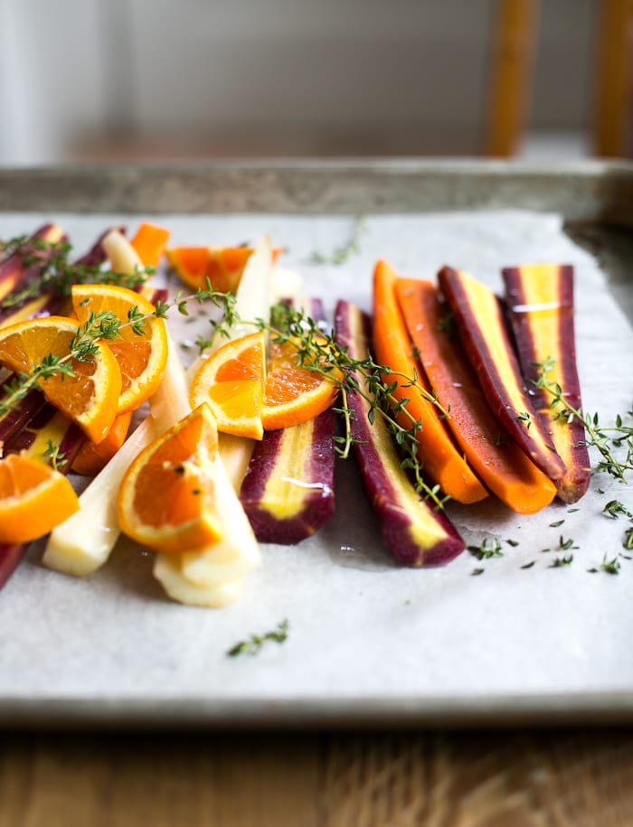 cook once eat twice: roasted carrots | theclevercarrot.com