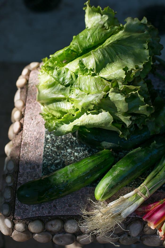 crisp summer lettuce | theclevercarrot.com