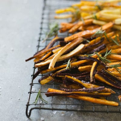 how to make crispy veggie fries without the fat