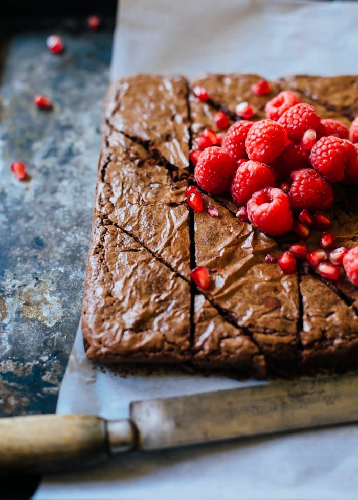 alanna's scrumptious chestnut brownies | theclevercarrot.com