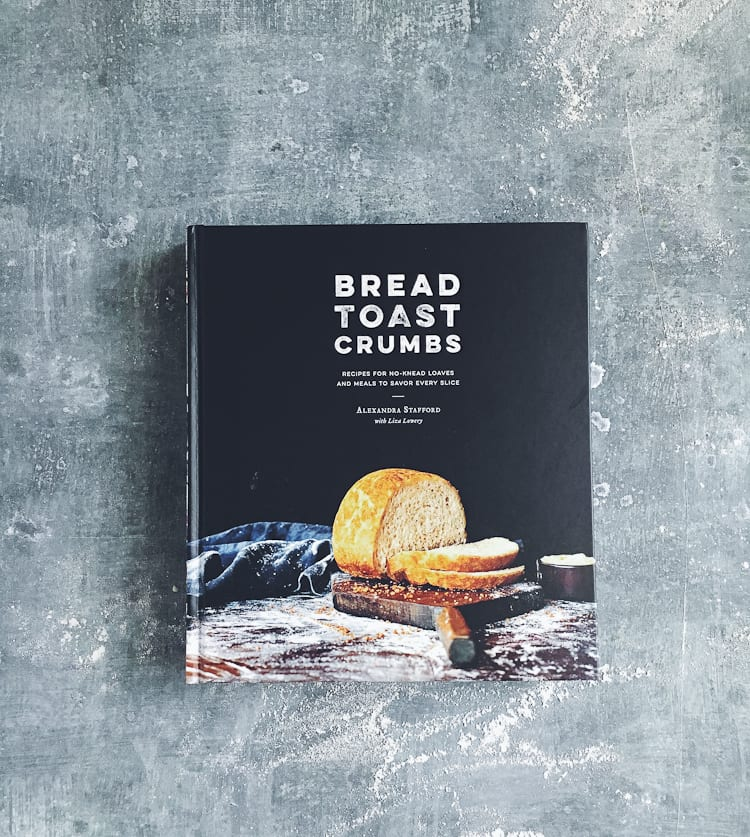 Ali's No-knead Peasant Bread | www.theclevercarrot.com
