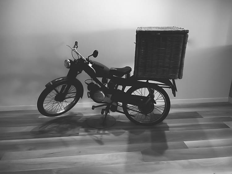 Giovanni Rana's Famous Bike | theclevercarrot.com