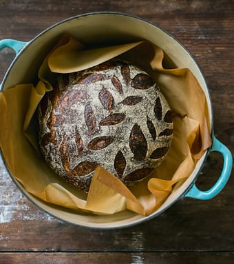 Multigrain Sourdough | theclevercarrot.com