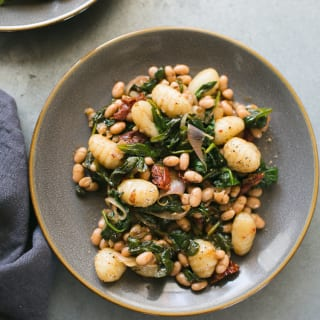 Spinach and Gnocchi with White Beans from Power Plates