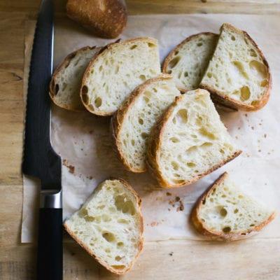 Artisan Sourdough with All Purpose Flour