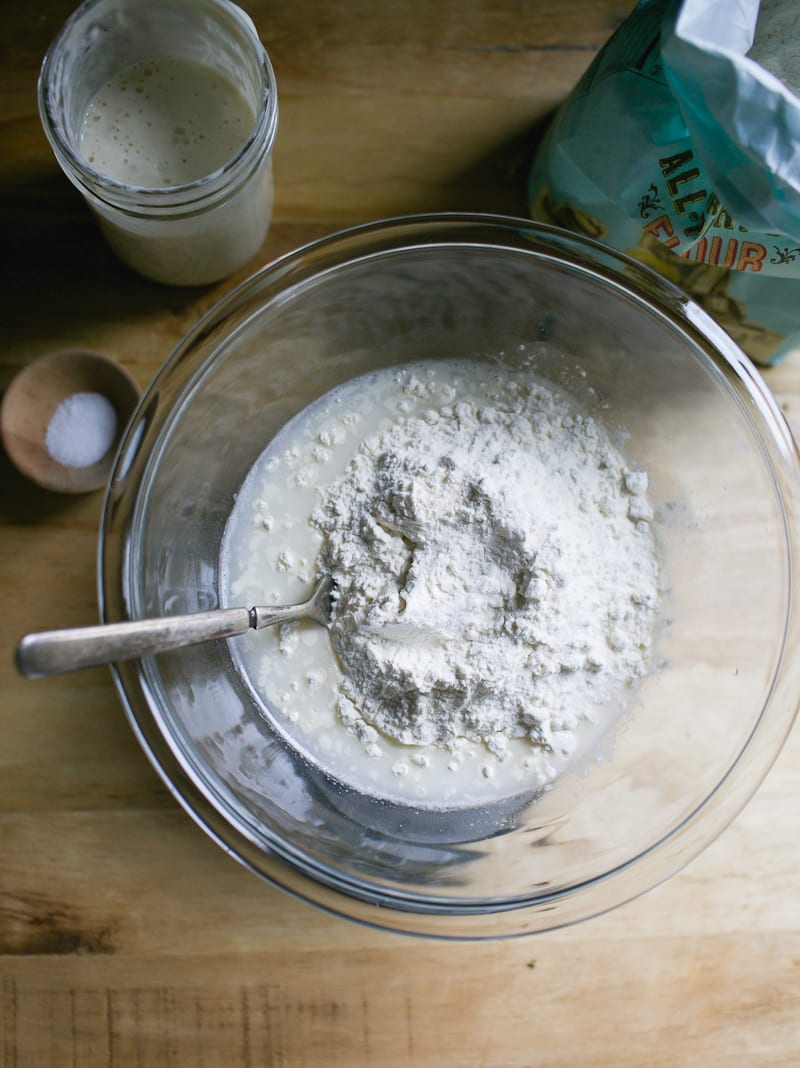 Bowl of all purpose flour | theclevercarrot.com