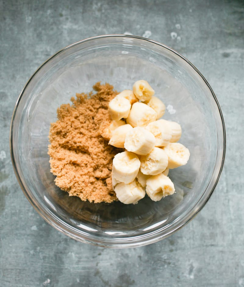 Bananas and brown sugar | theclevercarrot.com