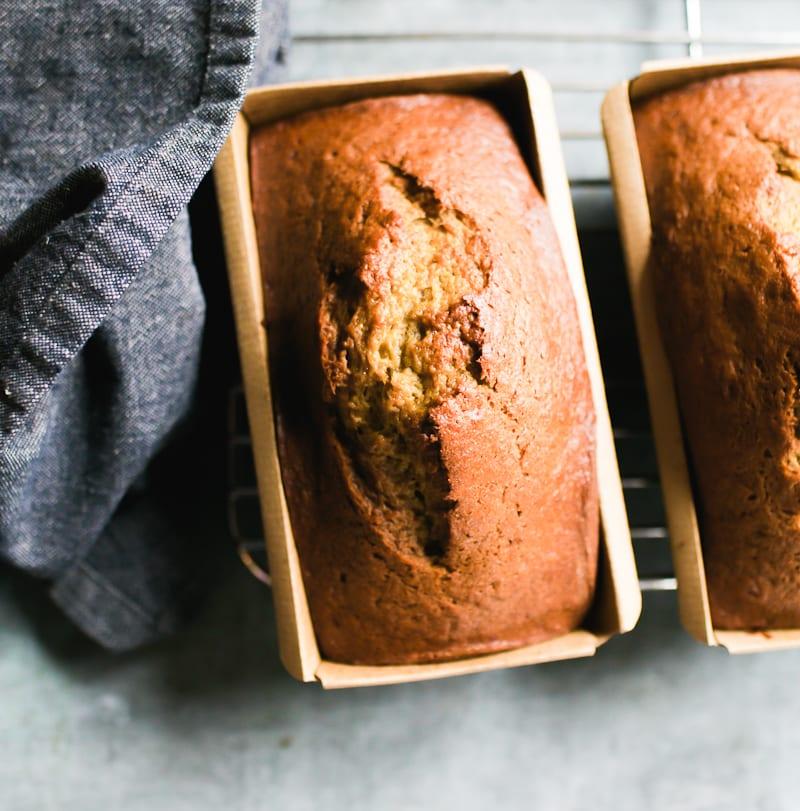 Sourdough Banana Bread   theclevercarrot.com