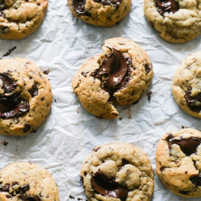 Soft and Chewy Sourdough Chocolate Chip Cookies