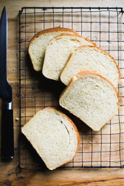 Sourdough Sandwich Slices | theclevercarrot.com