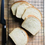 Sourdough Sandwich Slices | theclevercarrot.com